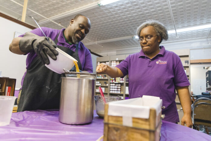 HELP WANTED: Andrew and Anna Mangeni, co-owners of Nissi Naturals LLC, say they've had nothing but bad experiences trying to get bank loans. Anna, who is Black, believes her race played a role. / PBN FILE PHOTO/MICHAEL SALERNO