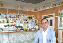 Dino Passaretta is the owner of Vanda Cucina, in Warwick. He's also partner and operator at Centro Restaurant and Lounge, Public Kitchen and Bar, and The Vig, all in Providence, and Locanda in South Kingstown. And stay tuned for a new venue coming soon in Narragansett. / PBN PHOTO/ELIZABETH GRAHAM