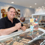 SWEET TREATS: Bill Hoffman owns two Kilwins locations on Thames Street in Newport. He opened a second location of the ice cream and candy store in May to expand the brand and capture foot traffic the first store was missing. / PBN PHOTO/KATE WHITNEY LUCEY