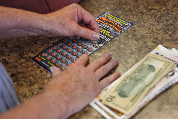 RHODE ISLAND had the second highest lottery expenditure per capita of all states in 2018 behind Massachusetts. / AP FILE PHOTO/CHARLES KRUPA