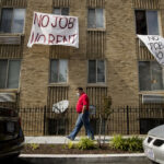 ROUGHLY 30% OF RENTERS polled by the U.S. Census say they have no confidence or slight confidence in their ability to pay rent next month. / AP FILE PHOTO/ANDREW HARNIK