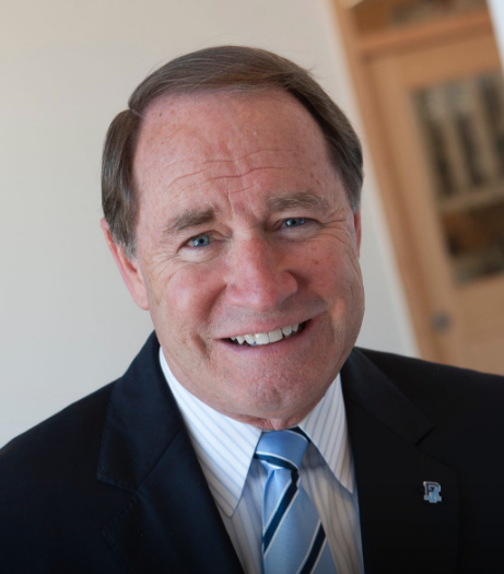 DAVID M. DOOLEY earned $443,136 in 2019 as president of the University of Rhode Island, according to the Chronicle of Higher Education Friday. / COURTESY UNIVERSITY OF RHODE ISLAND