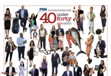 FORTY YOUNG PROFESSIONALS were honored Thursday in Providence Business News' 2020 40 Under Forty Awards program. / PBN PHOTO