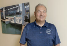 Anthony Baro founded renewable energy company E2SOL LLC in Providence in 2010. In 2016 he co-founded Fall River-based marine technology company PowerDocks LLC.  / PBN PHOTO/MICHAEL SALERNO