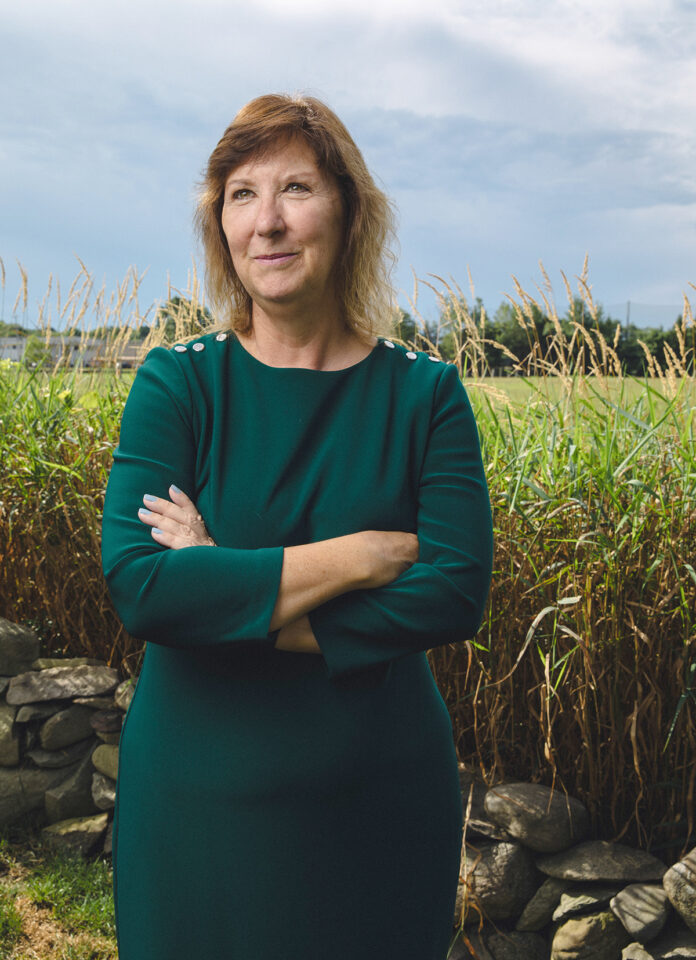 Beth Carter last September became executive director of the Rhode Island Business Competition, a nonprofit that provides resources to entrepreneurs. She's also founder of Carter Consultants Ltd., and Beth Carter Enterprises. / PBN PHOTO/RUPERT WHITELEY