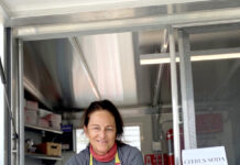 FULLY INVESTED: After owning several cafes, Kelly Walsh launched Farmstead Refreshments, a zero-waste food truck featuring farm-fresh items, on Block Island in July.  / COURTESY FARMSTEAD REFRESHMENTS