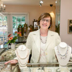 VERSATILE: Tiffany Peay, owner of Tiffany Peay Jewerly Ltd. in Tiverton, is confident her jewelry design business will survive the COVID-19 pandemic by expanding her wellness-service offerings, which already include Reiki and meditation. / PBN PHOTO/TRACY JENKINS