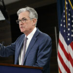 THE FEDERAL RESERVE announced that it plans to keep rates near zero even after inflation has exceeded the Fed's 2% target level. Above, Fed Chairman Jerome Powell. / AP FILE PHOTO/JACQUELYN MARTIN