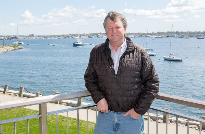 WATER WAYS OF LIFE: Brad Read, executive director for Sail Newport, involves his organization with the Newport Public Schools system, where it integrates marine education and learning to sail into the curriculum at Pell Elementary School. PBN FILE PHOTO/KATE WHITNEY LUCEY