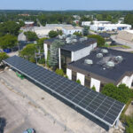 A NEW REPORT FOUND that Rhode Island could generate up to 7,340 megawatts of renewable energy from solar projects on parking lots, brownfields and other already-developed land. / COURTESY R.I. OFFICE OF ENERGY RESOURCES
