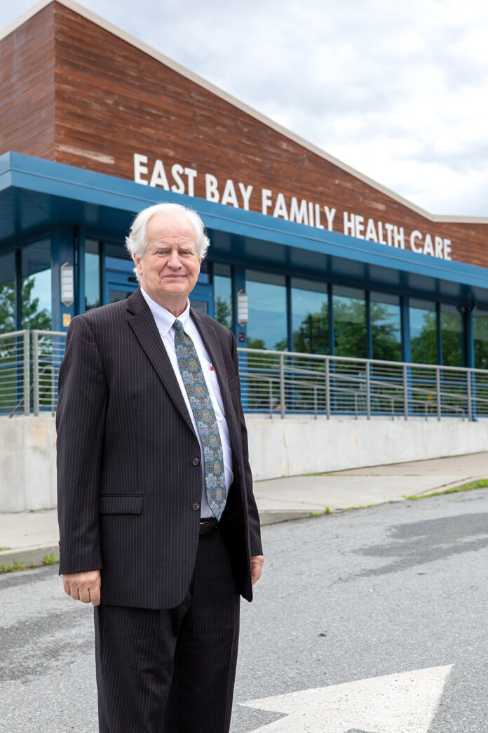 GROWTH POWER: Dennis Roy, CEO and president of East Bay Community Action Program, has made mergers with other organizations a major part of his leadership strategy for the East Providence-based nonprofit. PBN PHOTO/KATE WHITNEY LUCEY