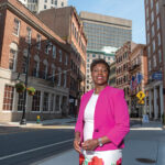 Lisa Ranglin, Rhode Island Black Business Association CEO and president; Citizens Bank program manager / PBN PHOTO/MICHAEL SALERNO