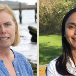 MARINE TALK: Jen McCann, left, and Elizabeth T. Methratta will be hosting a webinar to discuss the impact of offshore wind installations on the marine environment on Sept. 23. / COURTESY JEN MCCANN AND ELIZABETH T. METHRATTA