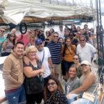 SAILING AWAY: Employees with Marasco & Nesselbush LLP enjoy a boat cruise in 2019. / COURTESY MARASCO & NESSELBUSH LLP
