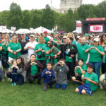 BEST FOOT FORWARD: Neighborhood Health Plan of Rhode Island's Team Neighborhood members and pets participate in the 2019 American Heart Association of Southern New England Heart Walk in Providence. / COURTESY NEIGHBORHOOD HEALTH PLAN OF RHODE ISLAND