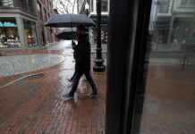 RHODE ISLAND unemployment rate increased to 12.8% in August. / AP FILE PHOTO/ STEVEN SENNE