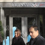 TIFFANY & CO. has sued LVMH to enforce a now-collapsed $14.5 billion takeover deal of the U.S. jeweler and LVMH has threatened legal action of its own, accusing Tiffany of mismanaging the financial crisis prompted by virus lockdowns. / AP FILE PHOTO/MICHEL EULER