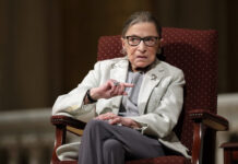 SUPREME COURT JUSTICE Ruth Bader Ginsburg, seen in a 2017 file photo, died died Friday of metastatic pancreatic cancer at age 87. / AP FILE PHOTO/MARCIO JOSE SANCHEZ