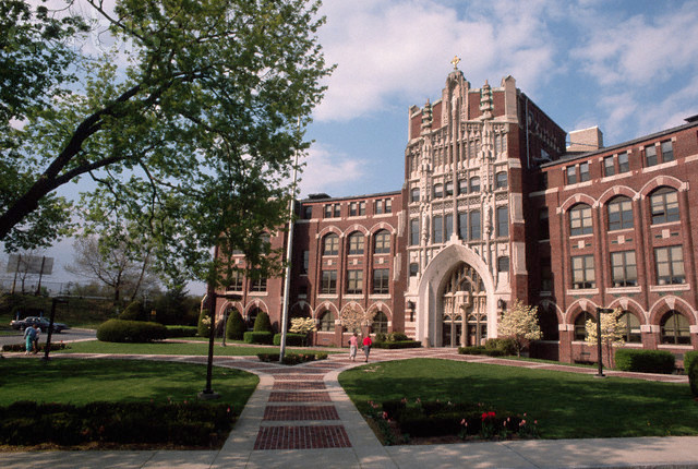 PROVIDENCE COLLEGE announced late Tuesday that it will require all off-campus students to take classes online until further notice unless they can provide a negative test to the college. / COURTESY PROVIDENCE COLLEGE