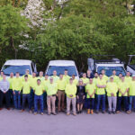 HAPPY FRIDAY: Employees at Pariseault Builders Inc. are offered Summer Fridays, where each employee receives two free Fridays off during the summer months. / COURTESY PARISEAULT BUILDERS INC.