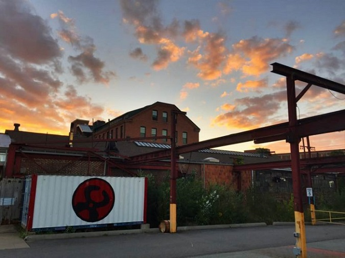 THE STEEL YARD reported a net loss of $270,131 in 2019, as the nonprofit completed renovations of its facility in Providence. / COURTESY THE STEEL YARD