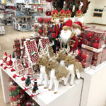 'TIS THE SEASON: Holiday knick-knacks are displayed at a Macy's department store on Oct. 1 in Denver. Stores are trying to attract earlier holiday shoppers as a way to reduce crowding during the COVID-19 pandemic.  / AP PHOTO/DAVID ZALUBOWSKI