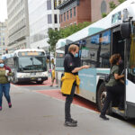 RIGHT PLAN? Critics say the R.I. Department of Transportation needs to consider more changes to a proposed downtown Providence transit plan for buses.  / PBN FILE PHOTO/ ELIZABETH GRAHAM