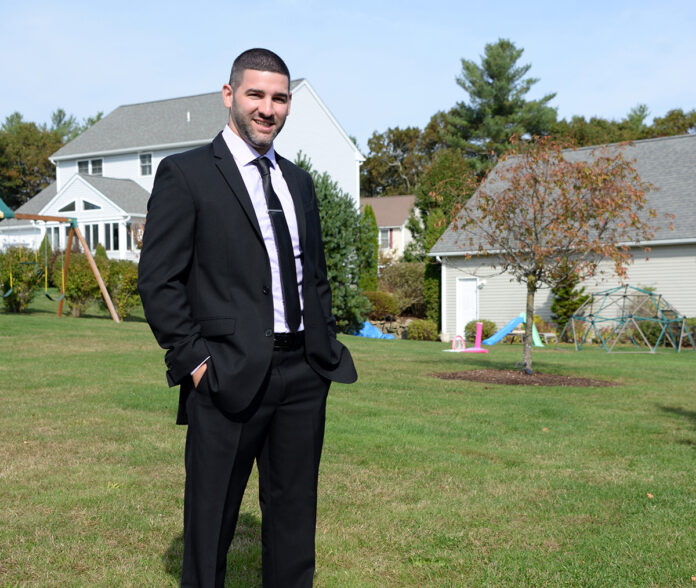 David Almonte co-founded FountainHead RI in 2016. The Exeter-based nonprofit helps future business and community leaders identify ways to lead, innovate and collaborate. / PBN PHOTO/ELIZABETH GRAHAM