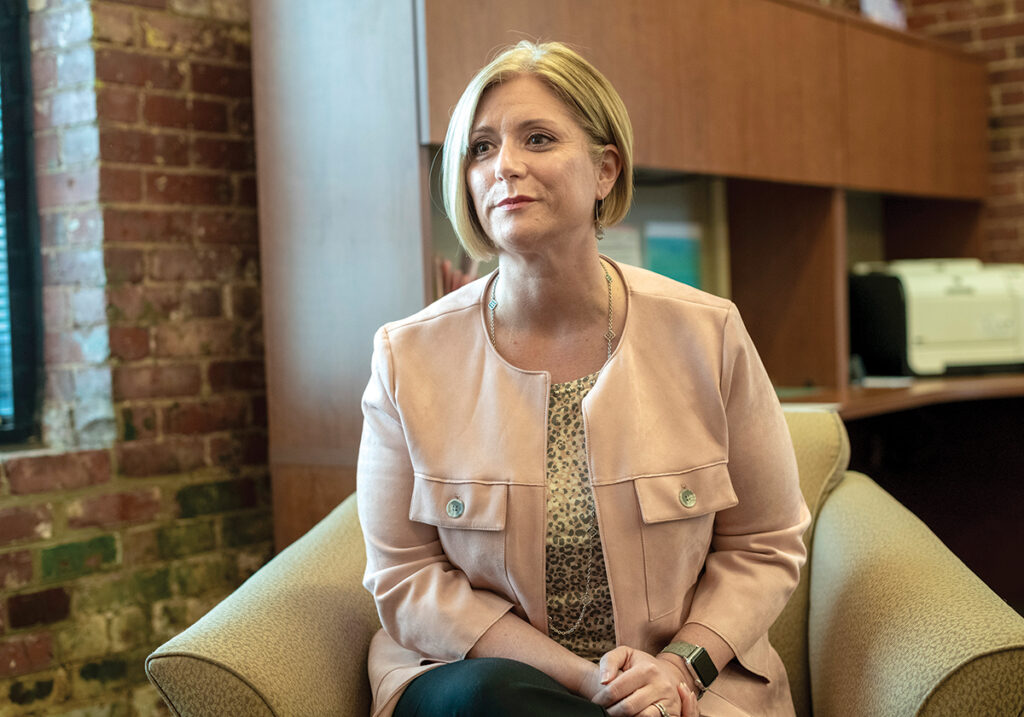 'Nonprofits will haveto continue to pivot and think creatively.'CORTNEY NICOLATO, United Way of Rhode Island CEO and president  / PBN FILE PHOTO/MICHAEL SALERNO