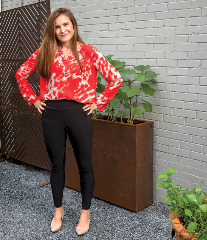 Willa Kammerer is president of Firestarter Interactive, a Providence-based film and storytelling agency that she founded in 2014.  / PBN PHOTO/MICHAEL SALERNO