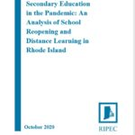 A NEW REPORT by the Rhode Island Public Expenditure Council on Tuesday states that only one-third of students in Rhode Island had access to full in-person learning as of Oct. 13.