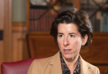 GOV. GINA M. RAIMONDO is being considered by the Biden-Harris campaign transition team for Secretary of Treasury in the event Biden is elected president, according to The American Prospect Tuesday. / PBN FILE PHOTO/MICHAEL SALERNO.