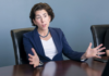 GOV. GINA M. Raimondo says the state has launched a new virtual career center and job-matching program as part of the Back to Work RI initiative. / PBN FILE PHOTO/MICHAEL SALERNO
