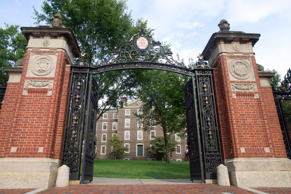 BROWN UNIVERSITY is one of several colleges in Rhode Island that has seen declined enrollments from year to year. / COURTESY BROWN UNIVERSITY