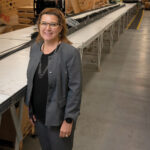 Kathie Mahoney in September was named center director of the Polaris Manufacturing Extension Partnership, a nonprofit under the auspices of the University of Rhode Island Research Foundation. She previously served in a similar role for MassMEP. / PBN PHOTO/MICHAEL SALERNO