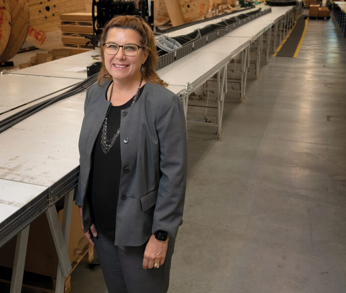 Kathie Mahoney in September was named center director of the Polaris Manufacturing Extension Partnership, a nonprofit under the auspices of the University of Rhode Island Research Foundation. She previously served in 