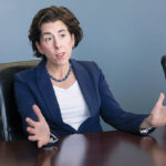 IN A RUSH: Gov. Gina M. Raimondo's administration has less than two months to disperse $900 million in pandemic-related federal aid. / PBN FILE PHOTO/MICHAEL SALERNO