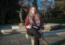 GOING IT ALONE: Katie Murano, a sole proprietor with a wedding photography business, has lost all of her 2020 jobs because of the COVID-19 pandemic. She has struggled to qualify for relief programs because of the structure of her business. / PBN PHOTO/MICHAEL SALERNO