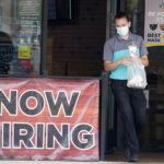 THE NUMBER of Americans seeking unemployment benefits fell last week to 751,000, the lowest since March, but it's still historically high and indicates the viral pandemic is still forcing many employers to cut jobs. AP FILE PHOTO/LM OTERO