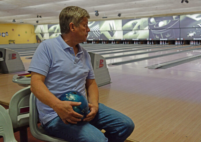 ROBERT TOTH, owner of Old Mountain Lanes Inc. in South Kingstown and operator of Walnut Hill Bowl in Woonsocket, will have to close his two bowling centers Nov. 30 as part of the state's two-week 'pause.' / PBN FILE PHOTO / ELIZABETH GRAHAM