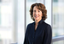 NATIONAL LEADER: Blue Cross & Blue Shield of Rhode Island CEO and President Kim A. Keck created several initiatives to improve health care access for all in the Ocean State. In January, she will become the next CEO and president of Blue Cross Blue Shield Association. / COURTESY BLUE CROSS & BLUE SHIELD OF RHODE ISLAND