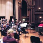 THE RHODE ISLAND PHILHARMONIC Orchestra will reduce its audience size to no more than 100 people for the next seven live shows at The Vets. / COURTESY R.I. DIVISION OF TOURISM