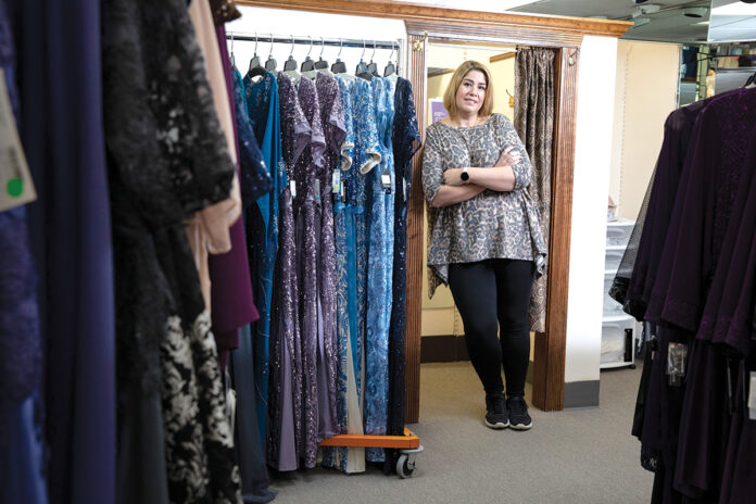 MONEY CONCERNS: When Janet Tanury was forced to temporarily close her clothing boutique in the spring because of the COVID-19 pandemic, she stopped making contributions to her retirement account.  / PBN PHOTO/RUPERT WHITELEY