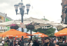 IN GOVERNOR Gina M. Raimondo's new bout of restrictions announced Thursday included early curfews for restaurants and bars. / COURTESY FEDERAL HILL COMMERCE ASSOCIATION