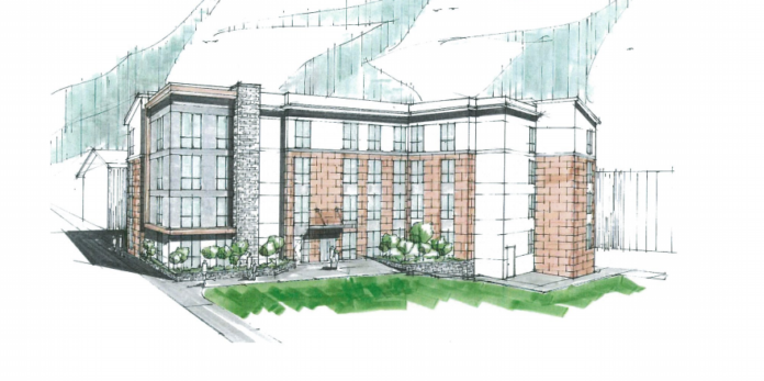 The 29-unit apartment building proposed for 17 Marcello St. in Providence would consist mostly of two-bedroom units. COURTESY PROVIDENCE CITY PLAN COMMISSION.