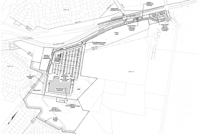 COASTAL PARTNERS LLC has submitted an amended proposal for the Mulligan's Island Golf & Entertainment property that excludes previously proposed residential development and includes an 18-acre gift to the city for recreational development. / COURTESY CITY OF CRANSTON