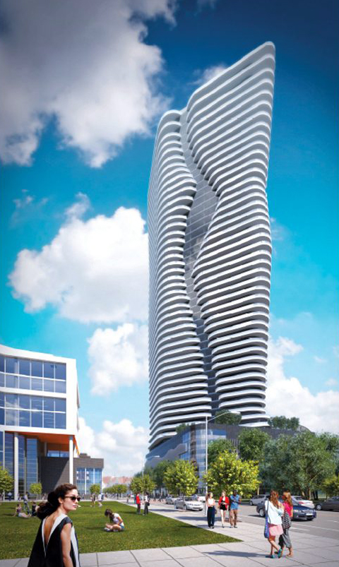 A R.I. SUPERIOR COURT judge has rejected a lawsuit seeking to challenge the rezoning of the I-195 Redevelopment District's Parcel 42 for the proposed Hope Point Tower project. / COURTESY THE FANE ORGANIZATION