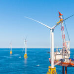 ORSTED U.S. OFFSHORE WIND, which owns and operates the Block Island Wind Farm pictured above, has said new delays in the Vineyard Wind project will not affect its own plans to build a 50-turbine wind farm off the coast of Block Island. / COURTESY ORSTED U.S. OFFSHORE WIND
