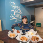 TASTE OF HOME: Wooma Cho, owner of the only Rhode Island bb.q Chicken franchise, which originated in Seoul, South Korea, in 1995, has always wanted to open a restaurant that would showcase her native culture.  / PBN PHOTO/MICHAEL SALERNO