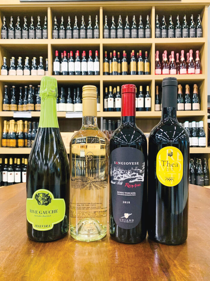 A FAB GROUP: These wines were selected as favorites for the season because of their qualities, as well as because of the families and stories behind the production of the wines.  / COURTESY THE SAVORY GRAPE